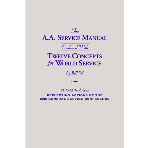 A.A. Service Manual and 12 Concepts 2018-2020